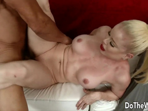 Do The Wife - Plowing Blonde Wives While Their Cuckolds Watch Compilation 8