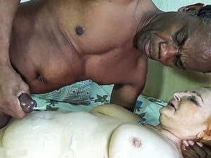 78 years old mom loves black stepson