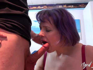 AgedLovE Mature Seduced Younster for Hardcore