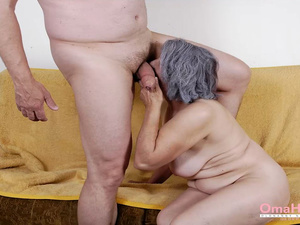 OmaHoteL Granny Sex Practices Compilation Video