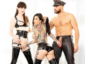 TS Natalie Mars, Joanna Angel & Ramon!