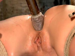 Big Tit Double Penetration Bondage Slut