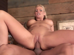 Blonde Milf Loves To Get Her AssFull Of Cum