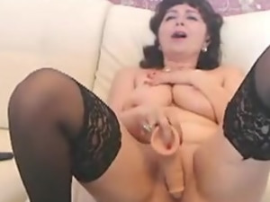 She knows how to cum twice