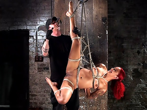 Non Stop Squirting, Fisting and Torment in Brutal Bondage