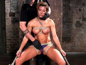 Ariel X - Extreme Bondage, Brutal Torment, and Squirting Orgasms!!!