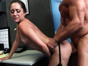 Remy Lacroix & Johnny Castle In Naughty Office Cumshot video
