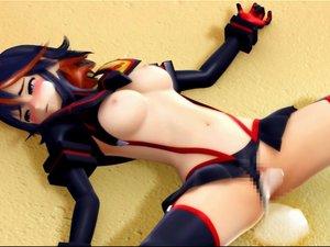 3D Porn with kill la kill