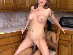Kayla Quinn hot black interracial action
