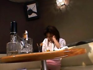 Horny Mature Woman Gets Licked And Pounded By A Young Guy In A Bar