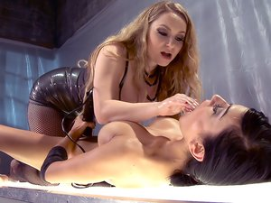Berretta James is Trapped in Aiden Starr's Spill room