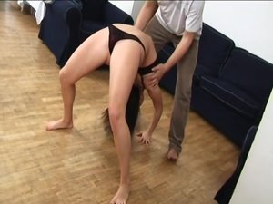 my busty flexible girlfriend