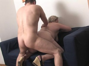 Chubby mature slut getting fucked