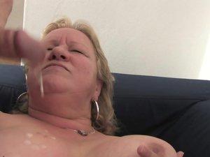 Chubby mature slut getting fucked