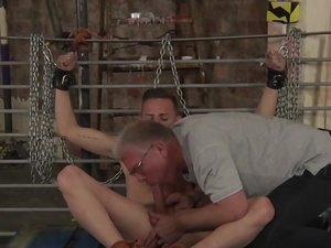 Arse Play Wank Off For Cameron - Cameron James And Sebastian Kane