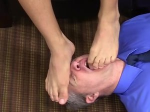 Michael Fitt Dominates Me With His Gorgeous Feet - Michael