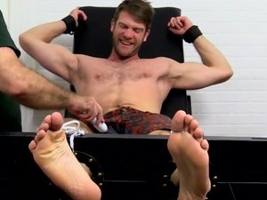 Stud Colby Keller Tied Up and Tickle Tortured - Colby Keller