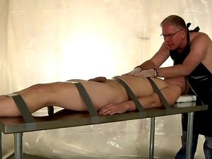Taped Down Twink Drained Of Cum - Alex Silvers And Sebatian Kane
