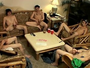 Five Guys Naked Card Game and Circle Jerk Cum Contest - Wiley, Cain, Blinx, Danny Boy and Slip