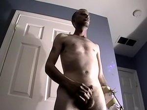 Hairy Dicked Ryan Jacks It - Ryan