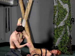 Jacob Takes Cock In His Slave Hole - Jacob Daniels And Reece Stewart