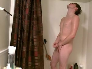 Jerking Off With Tyler In The Shower