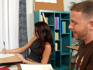 Kharlie Stone & Tony Rubino in Naughty Bookworms