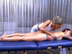 Massaging Mrs.Alexander