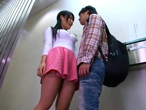 Chigusa Hara, Naughty Asian Teen Gets Big Tits Fucked And A Pussy Pounding