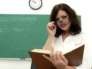 Adult Class Teacher Gets A LoadFrom Every Student