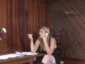 Thais and Milly shemale fucks lady action