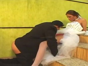 Angel irresistible shemale bride