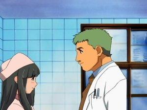 Hentai nurse sucks