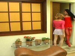Mylena and Kalena hot trannies on video