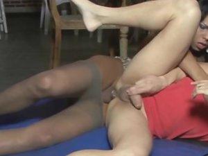 linda and edu shemale pantyhose sex action