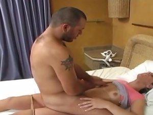 Rochele tranny pantyhose sex action 1