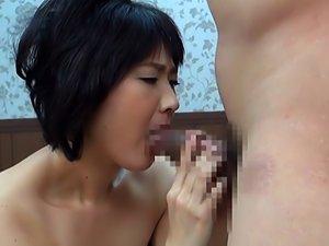 Hiroko Tajima Mature Asian Doll Enjoys Hot Position 69